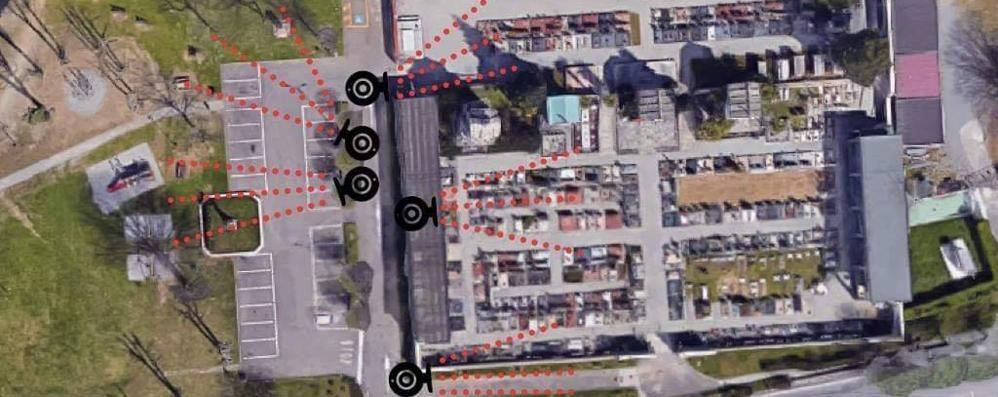 Rubano anche le foto dei defunti  Al cimitero arrivano le telecamere
