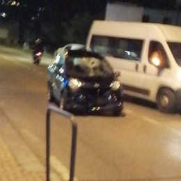 Operaio investito a Porlezza  Stava asfaltando la strada