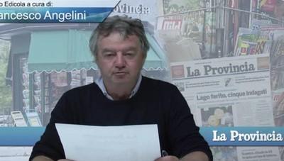 VideoEdicola prima pagina dell'11 ottobre 2019