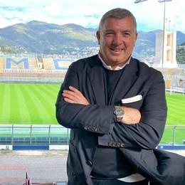Farè, l'uomo ex Milan in riva al Lario «La città vedrà il Como in modo diverso»
