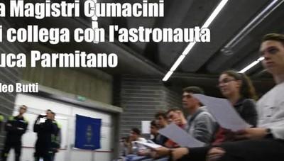 Gli studenti comaschi e l'astronauta Parmitano