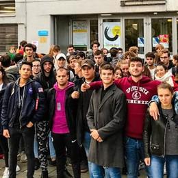 Piove dentro alle aule del Setificio  Studenti in sciopero per quaranta minuti