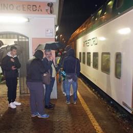Caslino: «Ridateci i nostri treni»  Proteste dopo il taglio di nove convogli