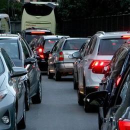 Statale Regina record:   30mila auto in 2 giorni