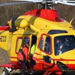 Anziano cade a Mariano Soccorso in elicottero
