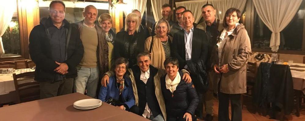 Cena tra ex studenti del Giovio   Quarant'anni dopo la maturità