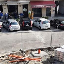 Appiano, pilomat anti sosta selvaggia  La piazza diventerà a misura di pedone