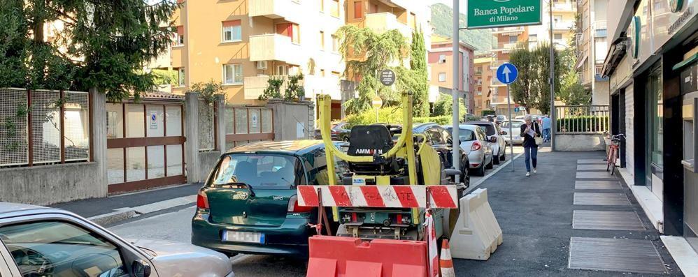 Erba, cantiere bloccato  Il Comune contesta i lavori