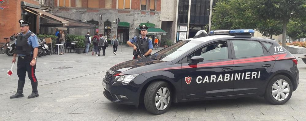 Spacciava in centro a Cantù  Arrestato dai carabinieri