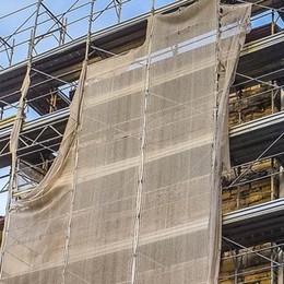 Un cantiere durato nove anni  Torre Pantera rivede la luce