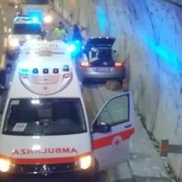 Incidente in galleria  Code sulla A9 a Como