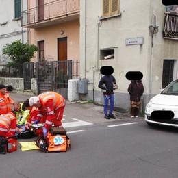 Lurate, investita davanti agli amici  Ragazzina ricoverata a Bergamo