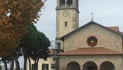 San Fermo si lavora al Santuario  Intervento per riparare il tetto