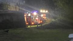 Uggiate, incendio a Somazzo  Intervengono i vigili del fuoco