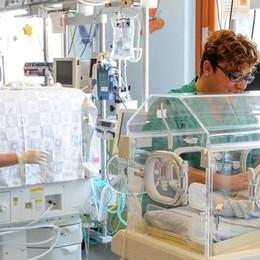 Pochi pazienti al Valduce  Chiude la terapia neonatale