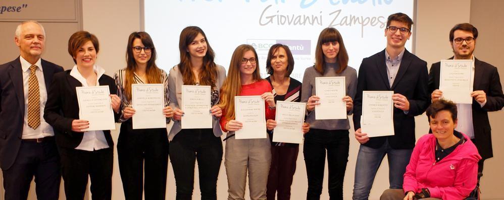 Premi Zampese a Cantù  La lezione di Roberta