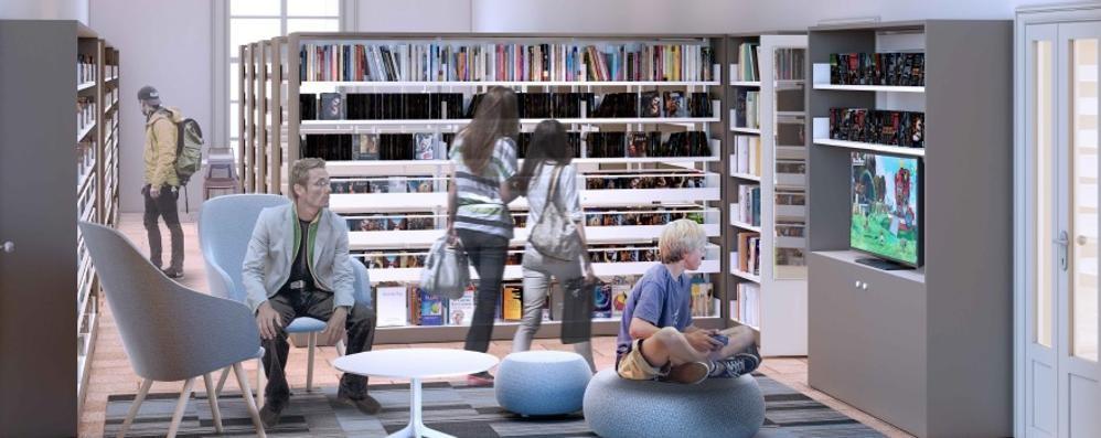 Olgiate, rivoluzione in biblioteca  Arriva lo spazio dei videogame