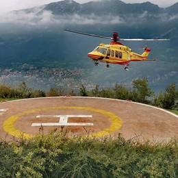 Cade in montagna a Musso Arriva il Soccorso Alpino