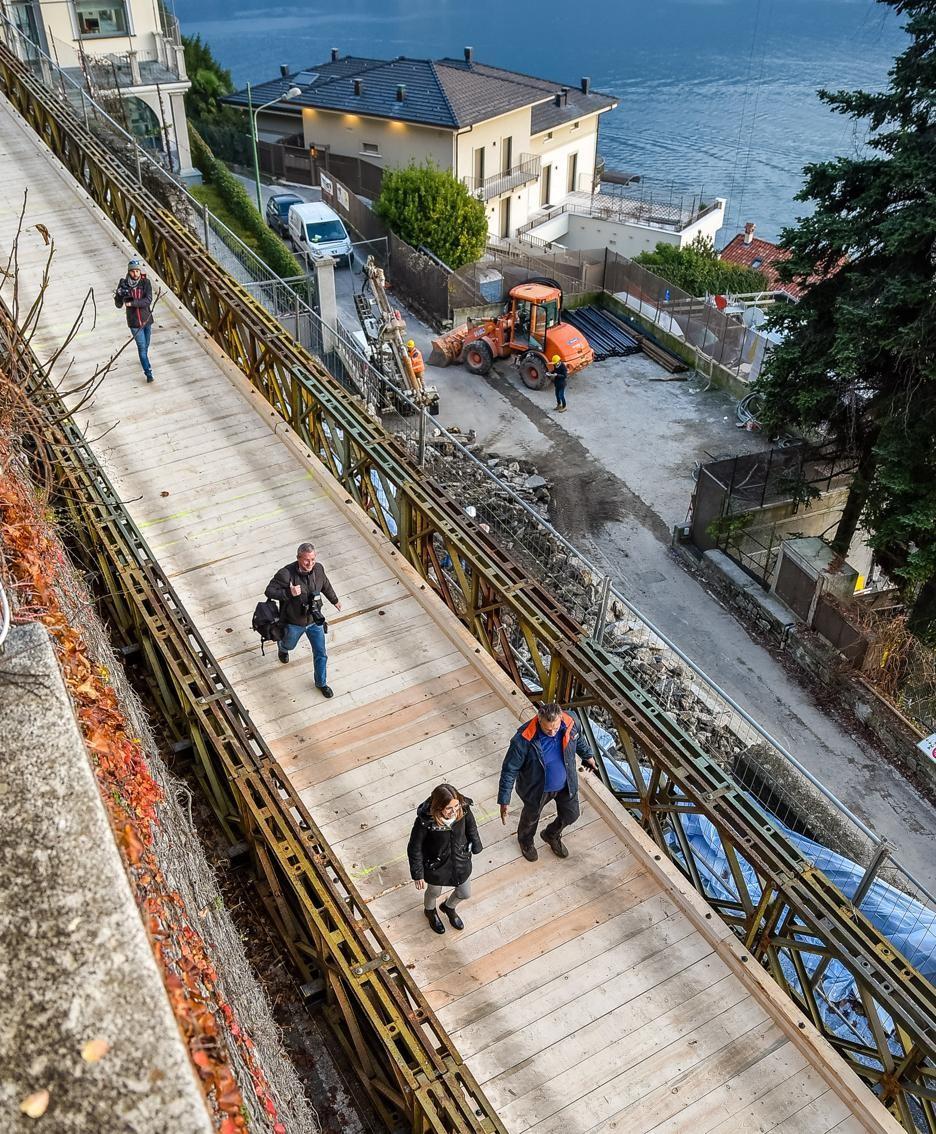 Il ponte visto dall'alto