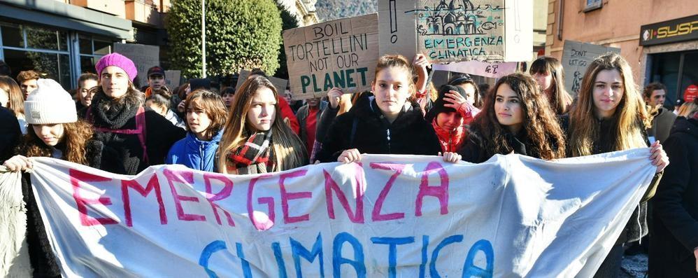 Lo sciopero per il clima A Como adesione scarsa