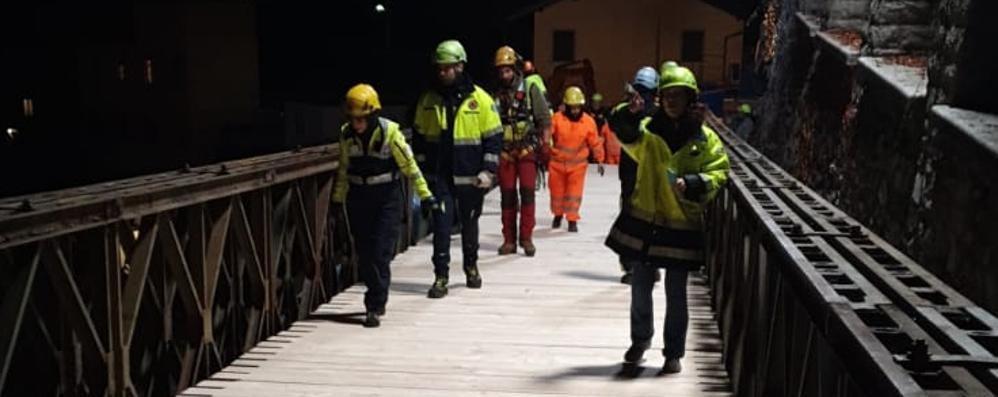 Rovenna, oggi finisce l'isolamento  È ufficiale: il ponte aprirà alle 16,30