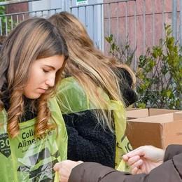 Colletta alimentare, vince la generosità
