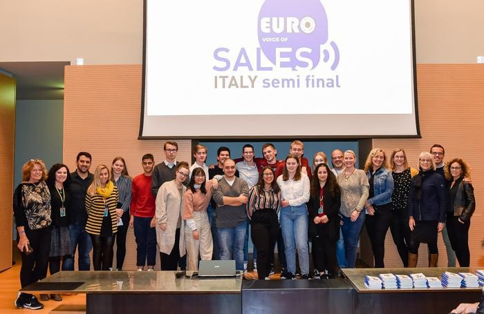 Gli studenti vincitori qualificati alle semifinali di Euro Sales Italy