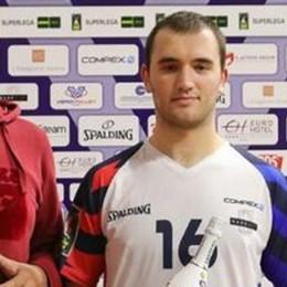 Il giovanissimo Giani Mvp nella Superlega