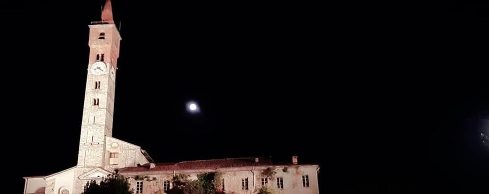 Cantù, tornata la luce sul campanile di San Paolo