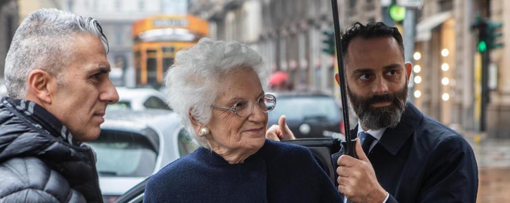 Il sindaco di Cantù e Liliana Segre  «Dico sì alla cittadinanza onoraria»