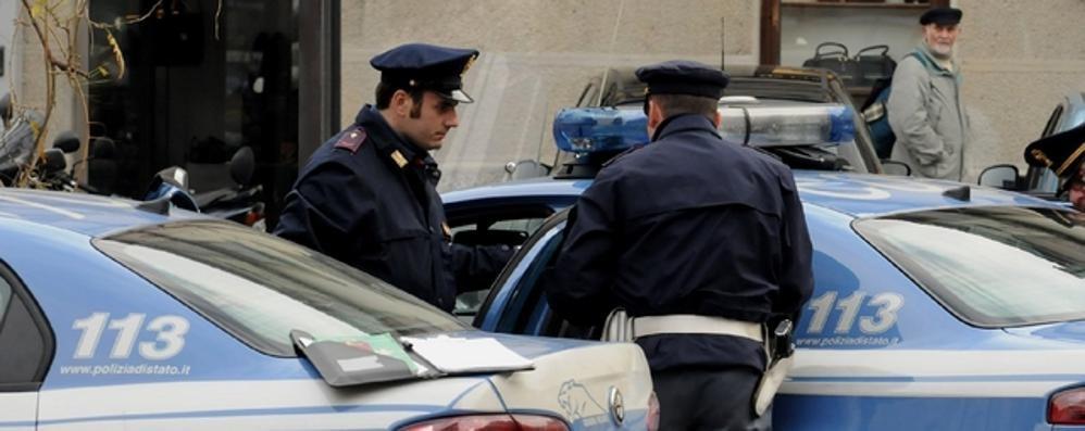 Picchiata dal convivente  Salvata dai poliziotti