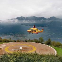 Due malori sul Generoso e a Rezzago  Allarme in montagna, arrivano gli elicotteri