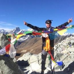 «I miei tre passi sull'Everest»   Brienno, le ferie speciali di Matteo
