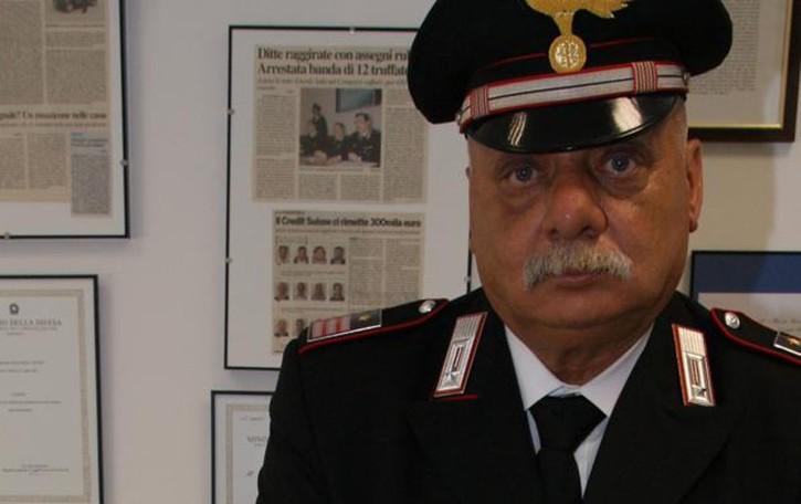 Asso saluta il maresciallo in pensione  «Una vita nell'Arma al servizio di tutti»