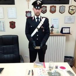 Spacciava droga a Turate Arrestato dai carabinieri