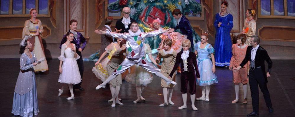 """""""Lo Schiaccianoci"""": a teatro  non solo danza per San Silvestro"""