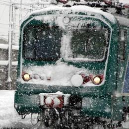 L'ultima delle ferrovie:   «Stop ai treni in caso di neve»