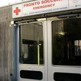 Ospedale di Gravedona,   assalto al pronto soccorso