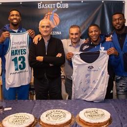 Un maxi schermo per Cantù al Basket Club Tremezzina