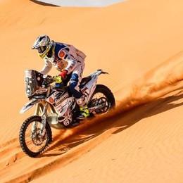 Cerutti, un miglioramento tira l'altro  Ma oggi dovrà calmarsi: la Dakar riposa
