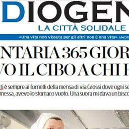 Fine anno di solidarietà  Con La Provincia c'è Diogene