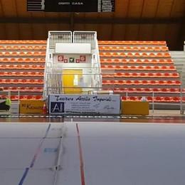Palasampietro, lavori finiti sulle tribune  Tornerà a ospitare duemila spettatori