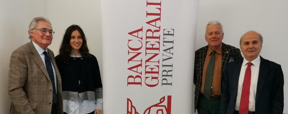 Il premio Panathlon Giovani Quest'anno va a Parravicini