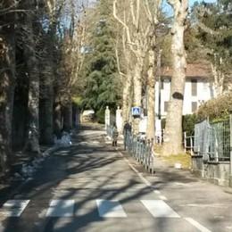Olgiate, viale Roncoroni  pedonale   «Ma solo di giorno»