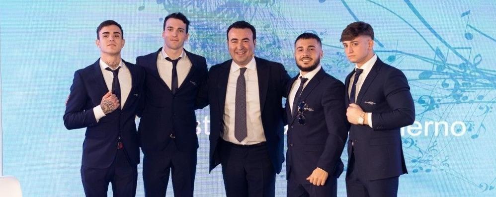 De Vecchis ospite a Sanremo  con i talenti della ginnastica   Qui il video dell'intervista