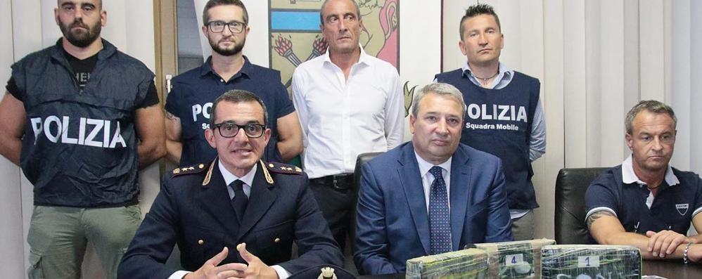 Dall'Olanda con la cocaina  Arrestato corriere di Dongo