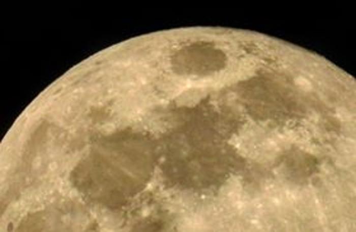 La superluna fotografata dal lettore David Pantera