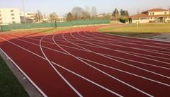 Completata la pista di atletica  «Mariano  cittadella dello sport»