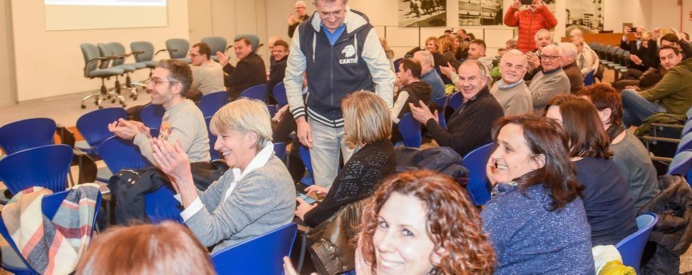Nuova Cantù, il primo atto ufficiale San Bernardo sponsor per tre anni