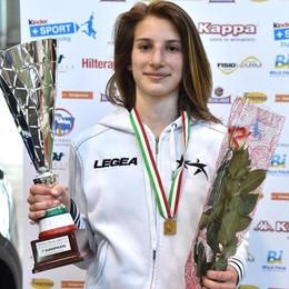 Orgoglio De Biasio al debutto azzurro Terza ai campionati del Mediterraneo